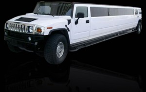 14 passenger white stretch hummer white limo