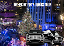 Dyker Heights Christmas Lights Tour Limousine