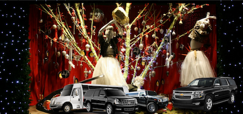 Fifth Ave. Department Stores Holiday Limo tour