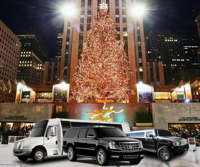 Manhattan Holiday christmas Limo Lighttour