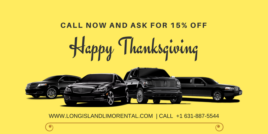 Thanksgiving Limo Service in Long Island New York