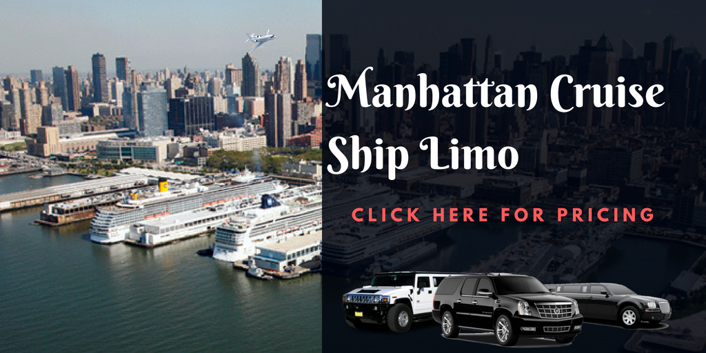 Manhattan cruise ship limo car shuttle pricing