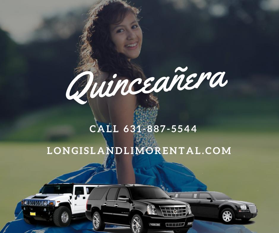 Quinceañera Limo Service Long Island NY