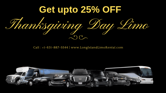 thanksgiving day limo service in long island ny