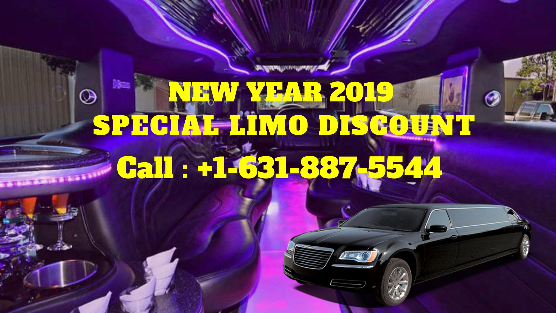 New Year 2019 Special Long Island Limo Discount