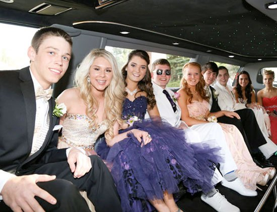 prom limousine service long island