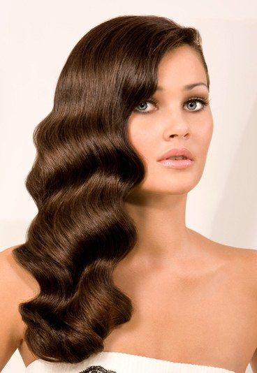Sophisticated waves-hairstyle-for-prom-event in long island