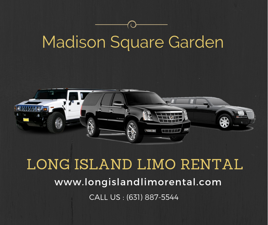 madison square garden limo concert packages
