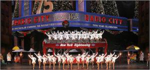 Radio City Christmas Spectacular limo