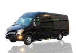 13 Passengers Mercedes Sprinter Van Limo Long Island NY
