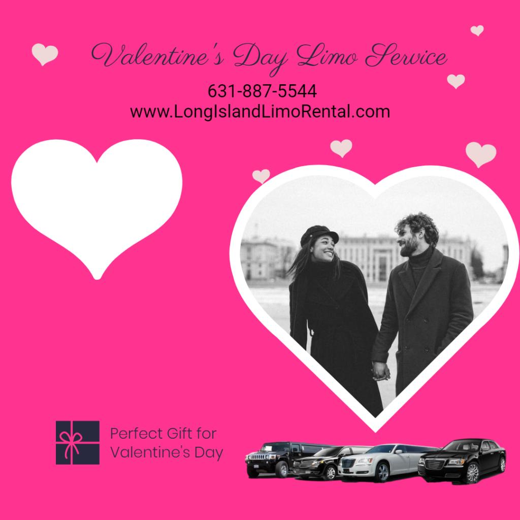 valentine's day limo long island ny